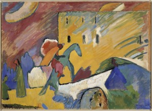 Wassily Kandinsky. Improvisation III (Improvisación III), 1909. © Vassily Kandinsky, VEGAP, Madrid 2015