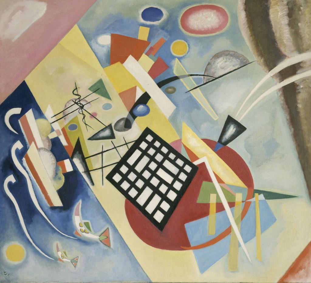 Wassily Kandinsky. Schwarzer Raster (Trama negra), 1922. © Vassily Kandinsky, VEGAP, Madrid 2015