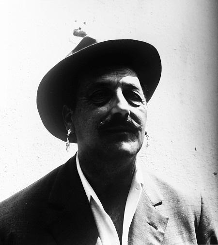 Autor desconocido. Giuseppe Pinot-Gallizio