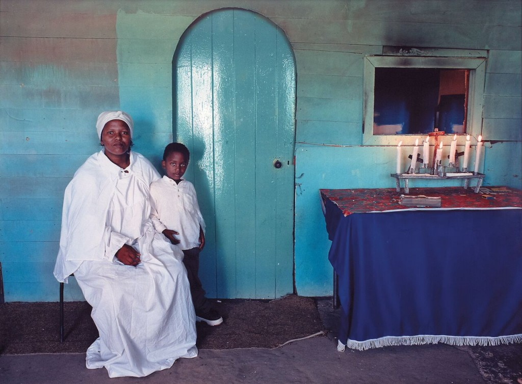 Zwelethu Mthethwa. Untitled (Sacred Homes Series), 1999