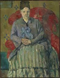 Paul Cézanne. Madame Cézanne en un sillón rojo, 1877. Museum of Fine Arts Boston