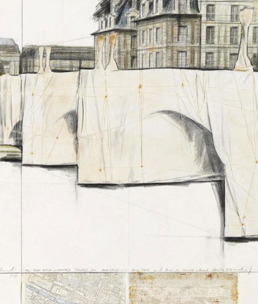 Christo, The Pont-Neuf Wrapped (1975)
