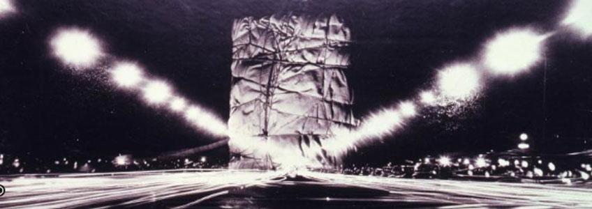 Christo. Project for The Arc de Triomphe, Paris, 1962-1963