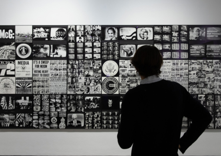 Ferdinand Kriwet. Campaing-Tableau, 1972-2007. Colección privada