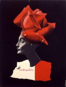 Roman Cieslewicz. Moda Polska, 1959. Museum für Gestaltung, Zürich
