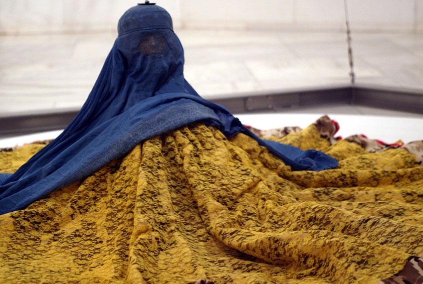 Joana Vasconcelos. Burka, 2002. Colección MUSAC