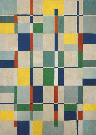 "Lygia Clark. Composición (Composição), 1953. Colección Patricia Phelps de Cisneros © Cortesía Asociación Cultural ""The World of Lygia Clark"""