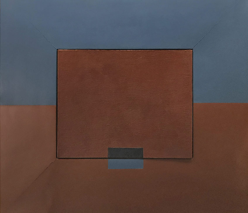 """Lygia Clark. Rompiendo el marco, versión 1 (Quebra da moldura, versão 1), 1954. Colección particular © Cortesía Asociación Cultural """"The World of Lygia Clark"""