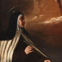 Alonso Cano. Aparición de Cristo resucitado a santa Teresa de Jesús