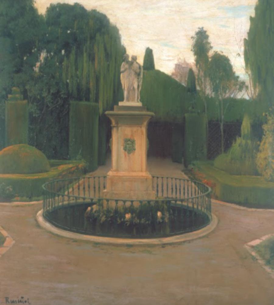 Santiago Rusiñol. Jardín de Valencia, 1912
