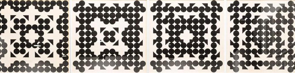 Manolo Quejido. Círculo y triángulo, 1968