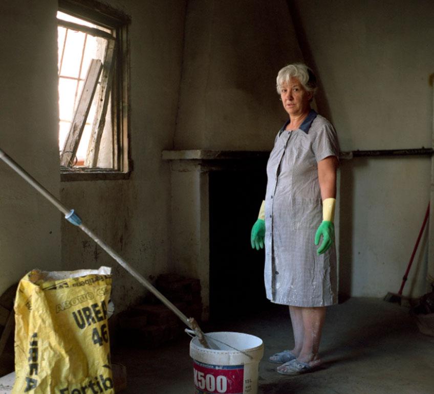 Juan Valbuena. Mi madre. Serie Un lugar de La Mancha, 2008