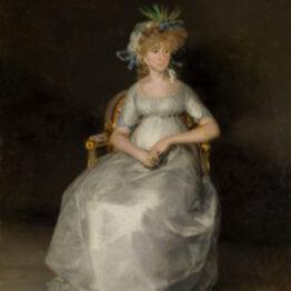 El Museo del Prado presenta La Condesa de Chinchón, de Goya, tras su restauración