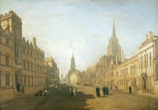 Joseph Mallord William Turner. High Street, Oxford