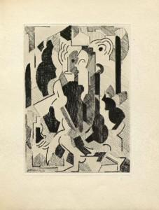 Albert Gleizes. Sin título, 1946. Albert Gleizes y Jean Metzinger, Du cubisme. París: Compagnie Française des Arts Graphiques, 1947 © Vegap, Madrid, 2015