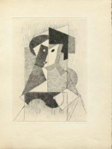 Jean Metzinger. Sin título, 1946. Albert Gleizes y Jean Metzinger, Du cubisme. París: Compagnie Française des Arts Graphiques, 1947 © Vegap, Madrid, 2015