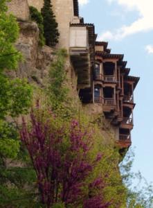 Vista exterior de Las Casas Colgadas