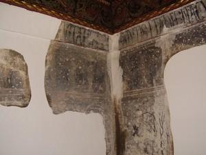 Detalle de uno de los elementos originales de Las Casas Colgadas