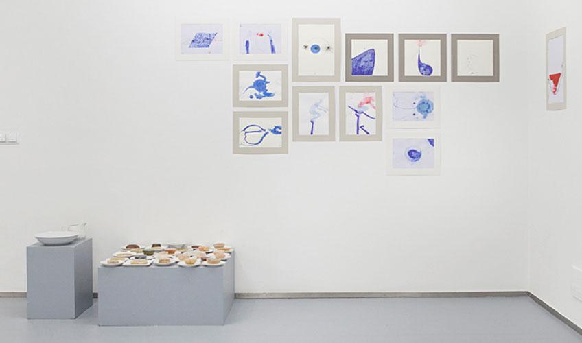"""Ana Adam en """"Blood, Stop, Space, Gold"""", en la Galería JosédelaFuente"""