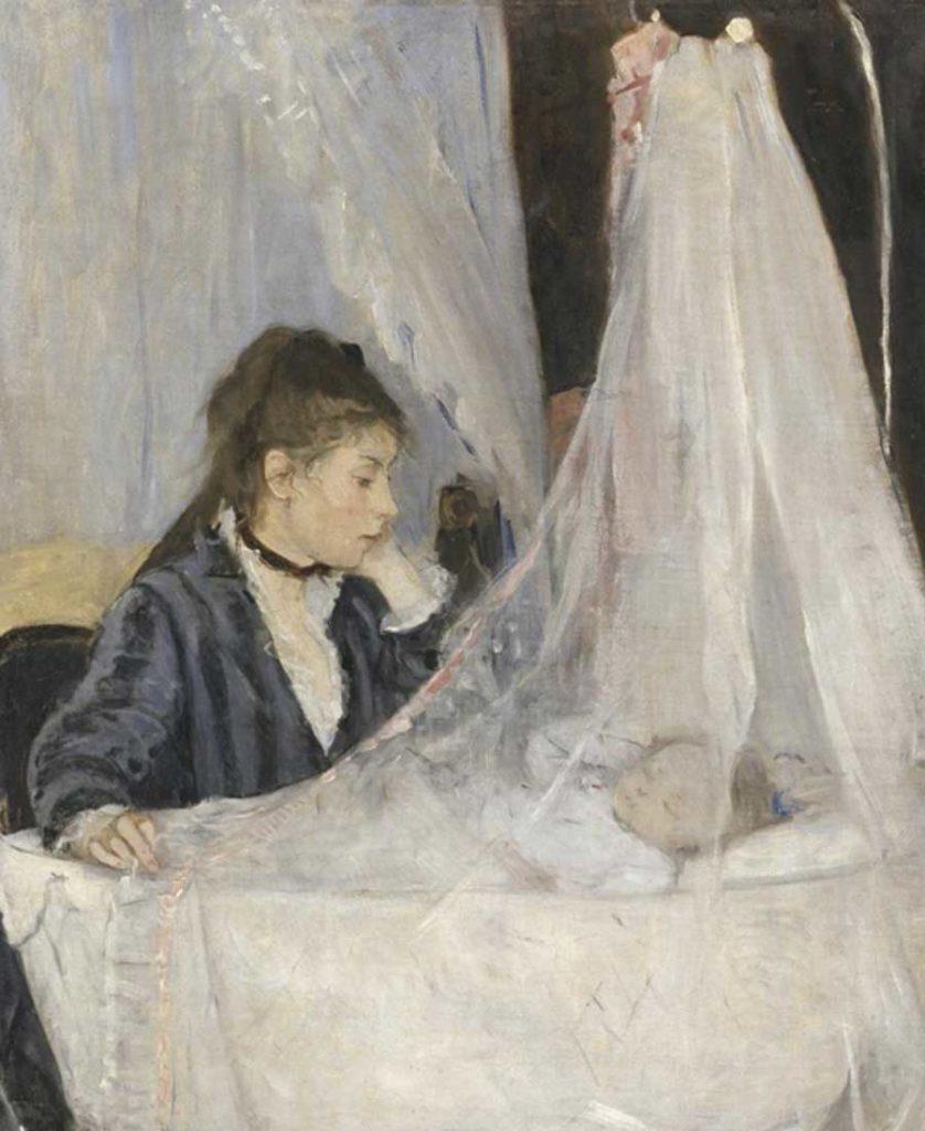Berthe Morisot. The Cradle, 1872. Musée d´ Orsay, 1972
