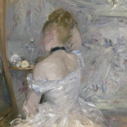 Berthe Morisot. Woman at her toilette, 1875-1880. Art Institute of Chicago