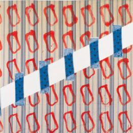 Claude Viallat, puntos de sutura