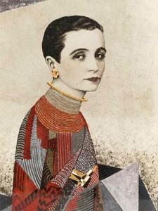 Jean Dunand. Madame Agnès, 1927. Cortesía Galerie Michel Giraud, París