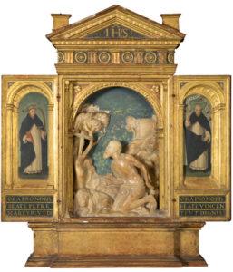 Damián Forment y Juan de Juanes. Oratorio de san Jerónimo penitente, hacia 1510-1579. Donación de la Fundación Amigos del Museo del Prado. Madrid, Museo Nacional del Prado