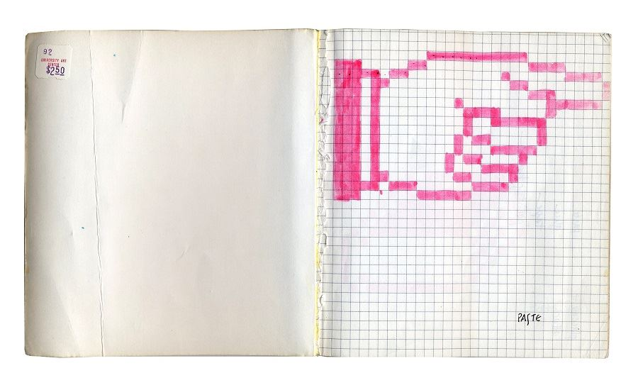 Susan Kare. Sketches for a Graphic User Interface Icon, 1982