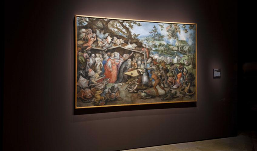 Jan Bruegel de Velours. Las tentaciones de San Antonio, 1625Museo Nacional de Escultura