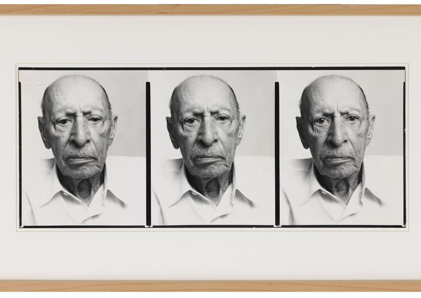 Richard Avedon. Igor Stravinsky, 1975. Col·lecció Suñol Soler © The Richard Avedon Foundation