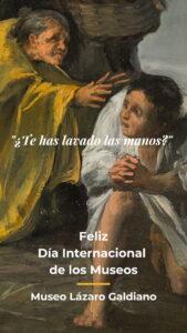 Una de las tarjetas del Museo Lázaro Galdiano en la Museum Week 2020