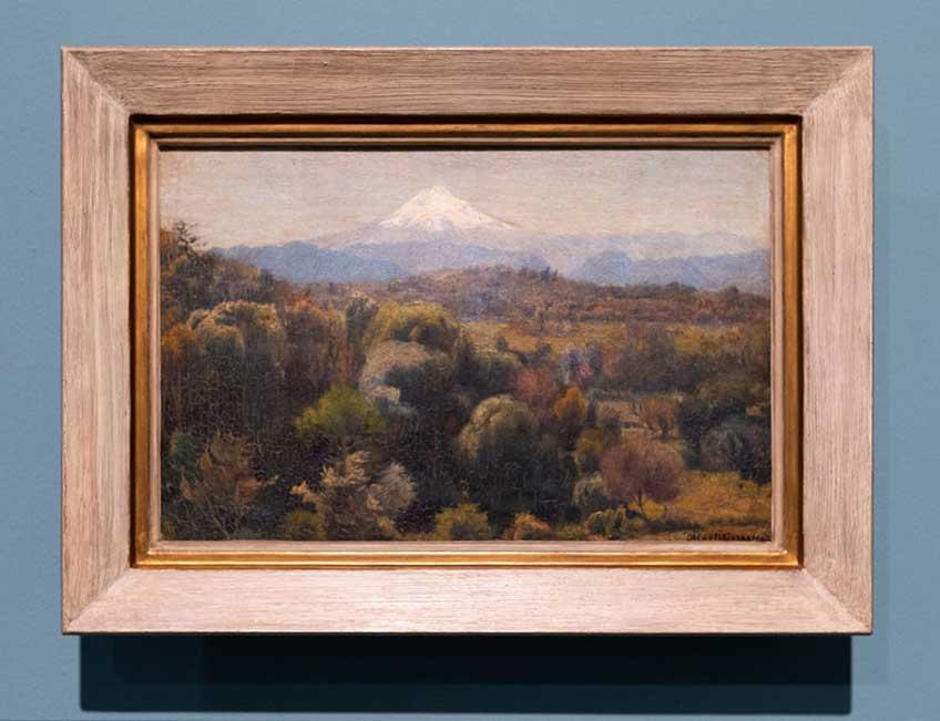 Diego Rivera. Pico de Orizaba, 1906 Exposición en Casa de México en España. Del 3 de octubre de 2019 al 16 de febrero de 2020