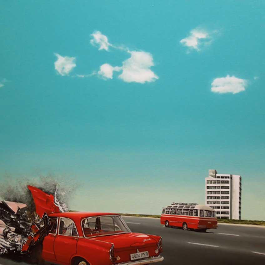 Adamo Dimitriadis. Crash, 2018