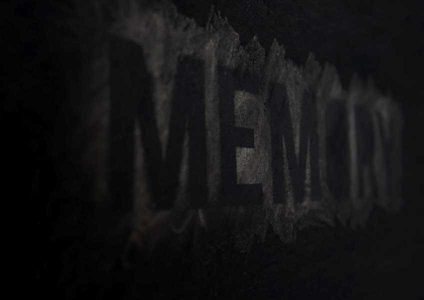 Gema Rupérez. Memory, 2019