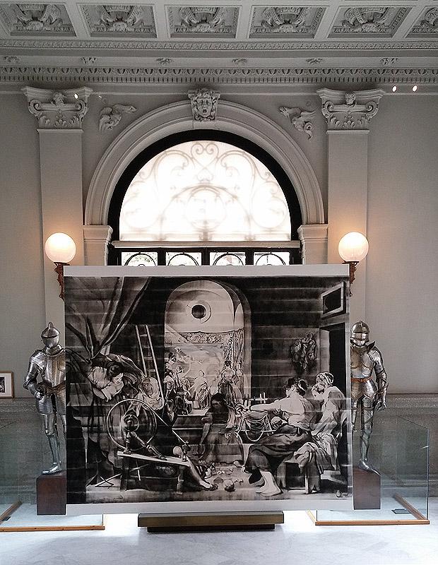 José Ramón Amondarain. Las hilanderas, 2013. Colección DKV