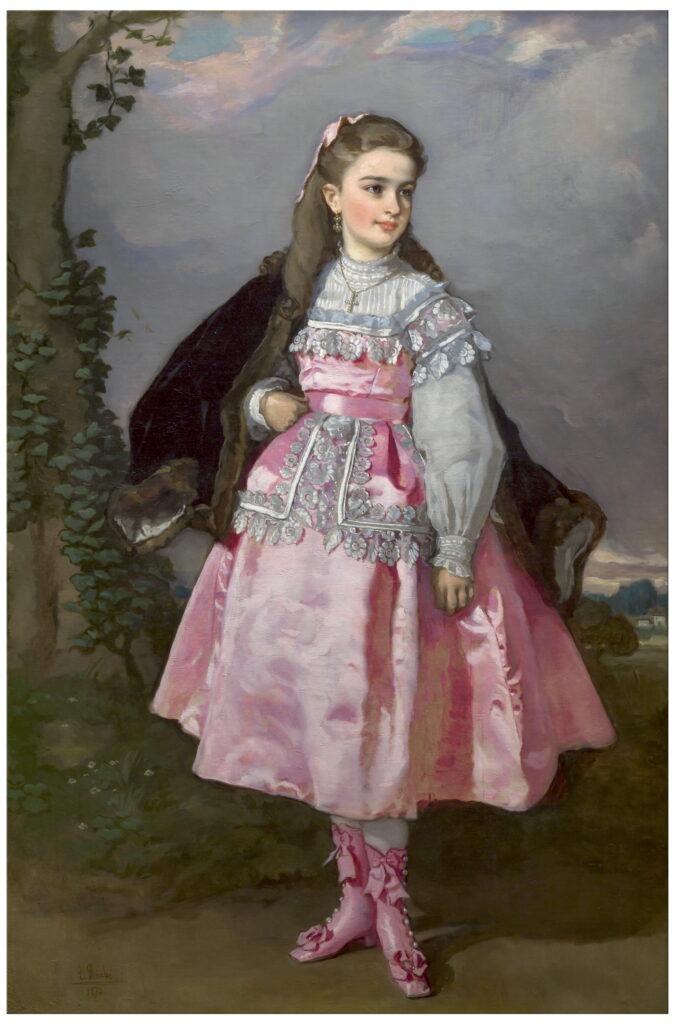 Eduardo Rosales. Concepción Serrano, después condesa de Santovenia, 1871. Museo Nacional del Prado