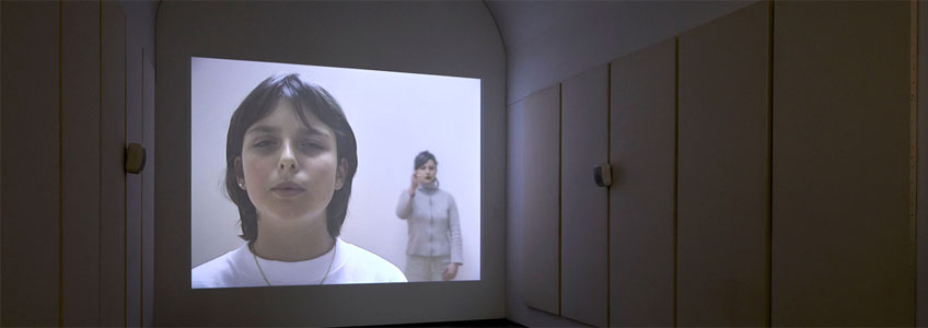 Dora García. La lección respiratoria, 2001. Colección MUSAC