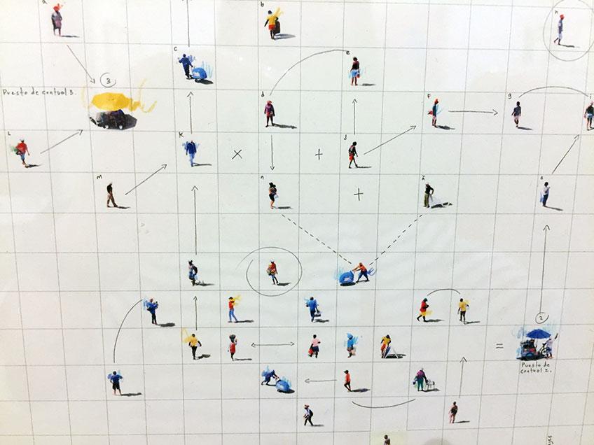Felipe Bedoya. Adrián Ibáñez Galería. Drawing Room Lisboa 2018