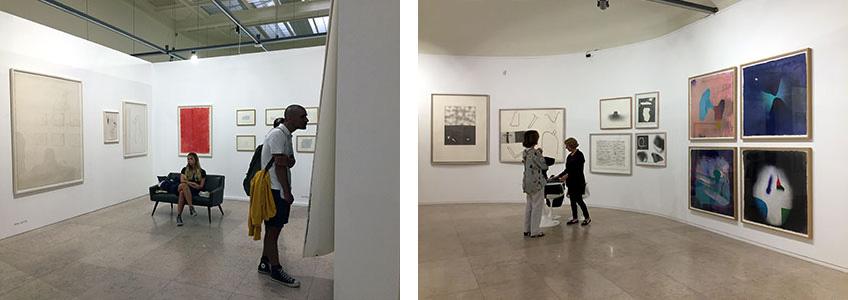 Galerías Miguel Nabinho y Arte Periférica en Drawing Room Lisboa 2018