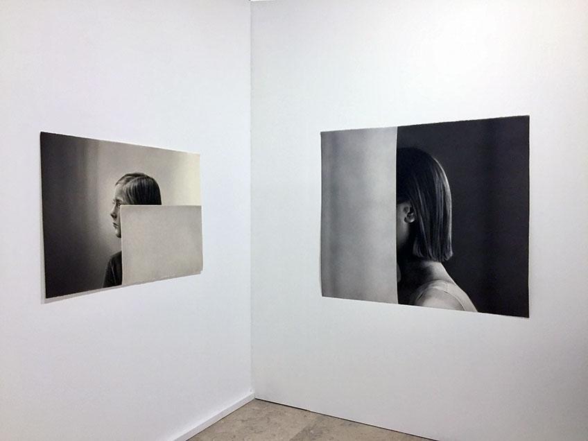 Irene González en Galería Silvestre. Drawing Room Lisboa 2018. Primer Premio Novo Talento Desenho-Drawing Room Lisboa & Viarco