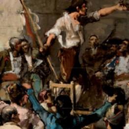 Joaquín Sorolla. Boceto para la obra El Palleter declarando la guerra a Napoleón