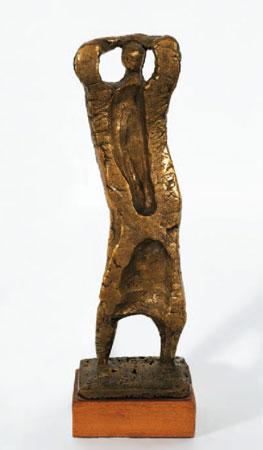 Jorge Oteiza. Coreano, 1950. Museo Oteiza
