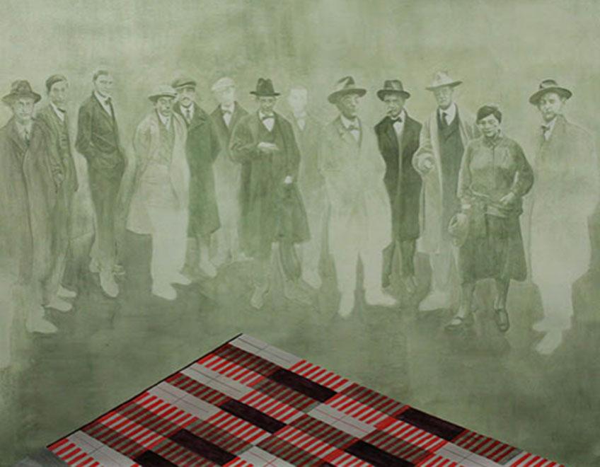 """Gonzalo Elvira. """"Bauhaus, 1919. Modelo para Armar"""" en la Galería Siboney"""