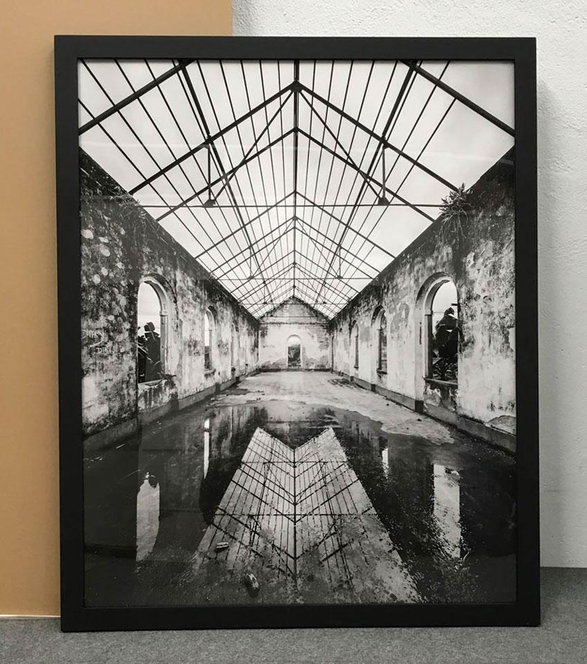 "Premio de Fotografía Fundación Enaire. ""Roça Agua Izé"" Autor: Filippo Poli"