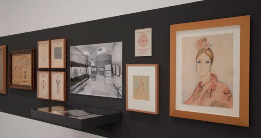 Vista de las nuevas salas de la Colección. Sala 207 del edificio Sabatini