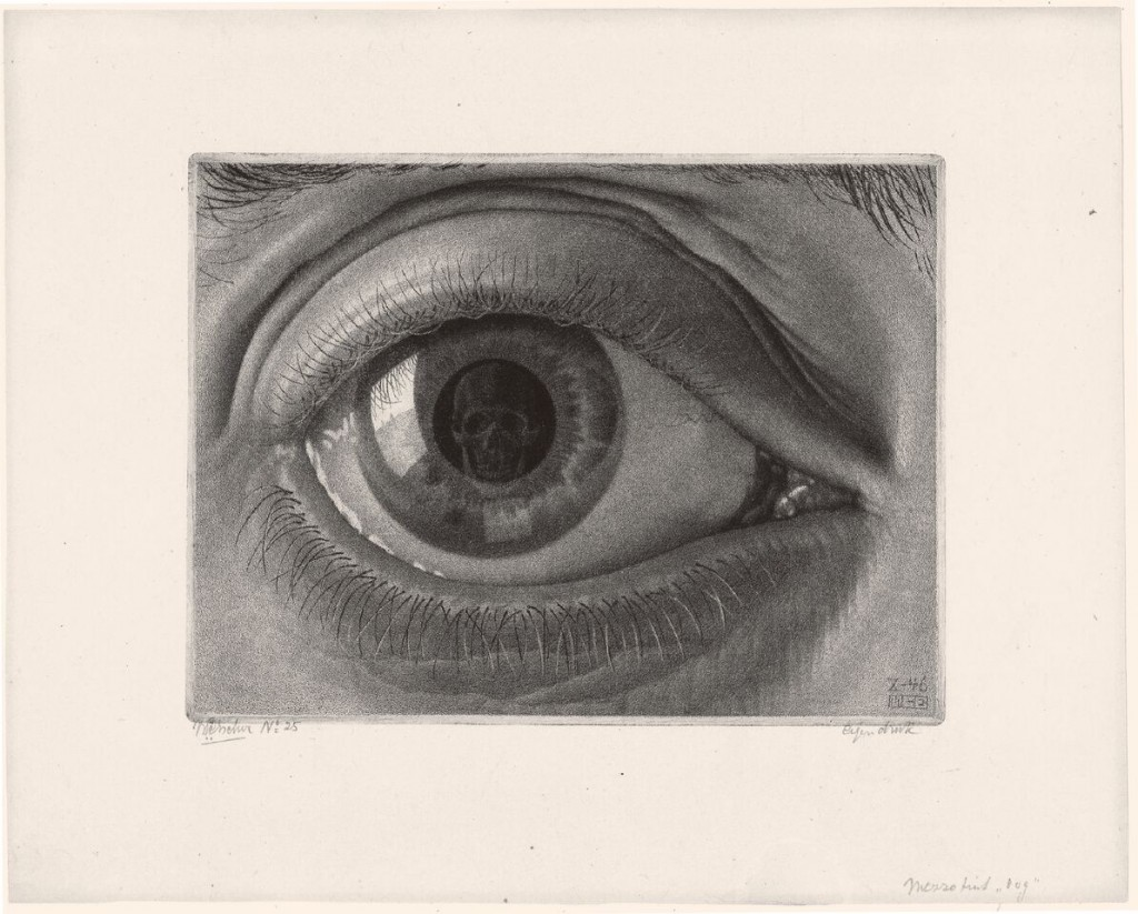 Maurits Cornelis Escher. Ojo, 1946. The Escher Foundation Collection. © 2017 The M.C. Escher Company The Netherlands