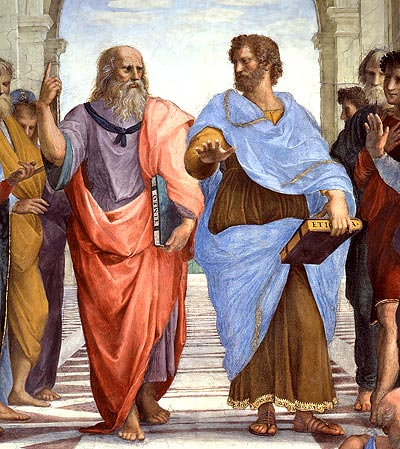 Rafael. La Escuela de Atenas, 1511