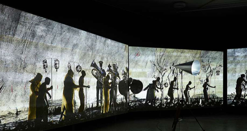 """William Kentridge"" en el CCCB"