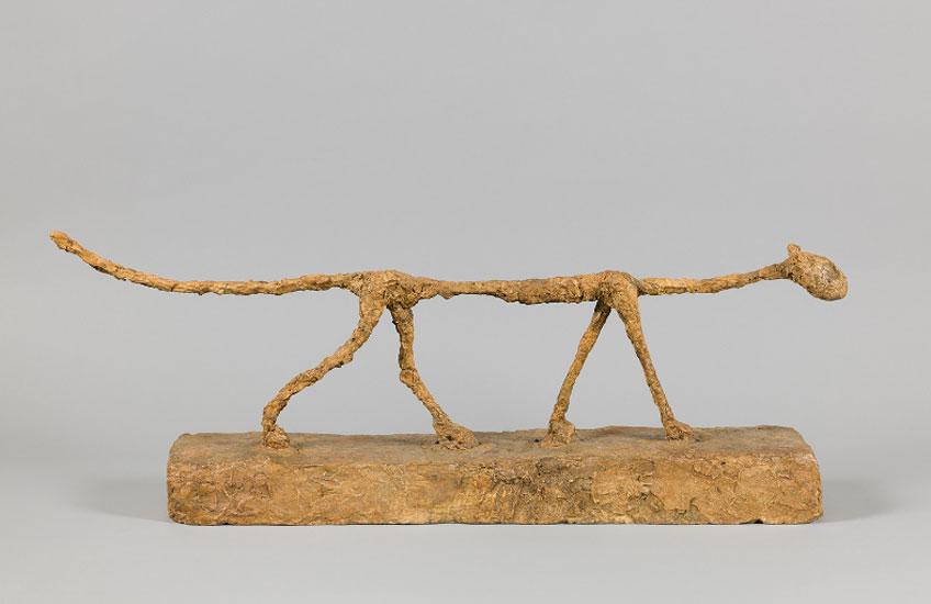 Alberto Giacometti. El gato, 1951. Fondation Giacometti, París © Alberto Giacometti Estate, VEGAP, Bilbao, 2018